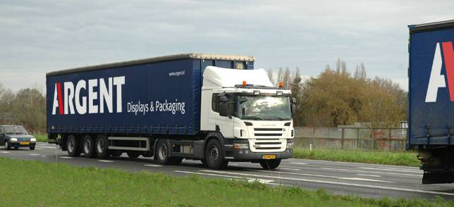 Argent truck
